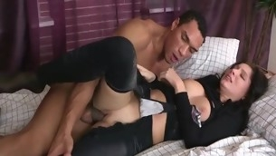 tenåring blowjob hardcore interracial strømpebukse