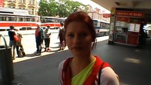 rødhårete tenåring babe blowjob naturlige pupper hardcore utendørs amatør små pupper hvit