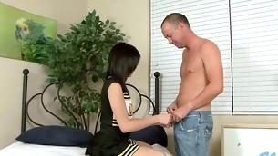tenåring blowjob ass uniform amatør