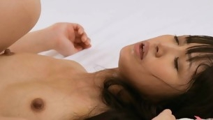 Two kinky dudes are satisfying sex craves of one sexy chick