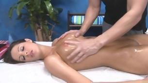 tenåring babe doggystyle brunette hardcore ass massasje kjønn søt