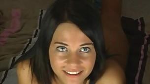 tenåring hardcore amatør pigtail