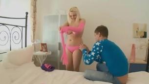tonåring baben blondin stor tuttar leksak amatör rakad sexig vibratorn