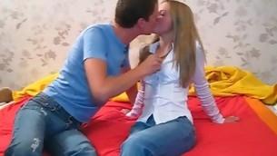 tenåring blowjob amatør russisk ridning