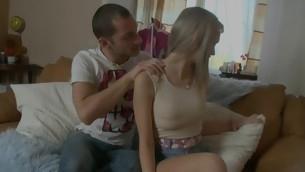 tenåring blowjob blonde