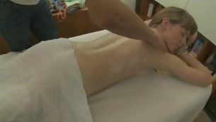 Juvenile darling is acquiring a steamy sexy body massage