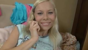 tenåring babe blowjob handjob blonde hardcore