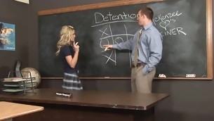 Wicked schoolgirl does her majority fantastic to please a large older ramrod