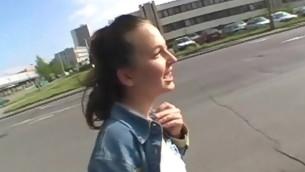 tenåring blowjob virkelighet brunette hardcore utendørs amatør synspunkt offentlig kjønn